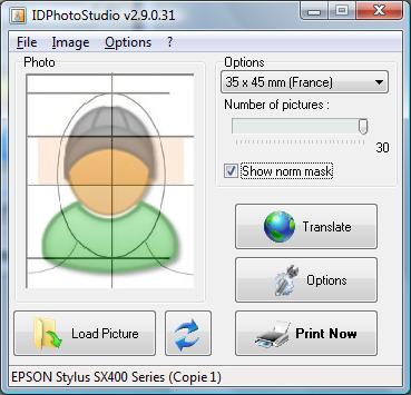 Full IDPhotoStudio screenshot