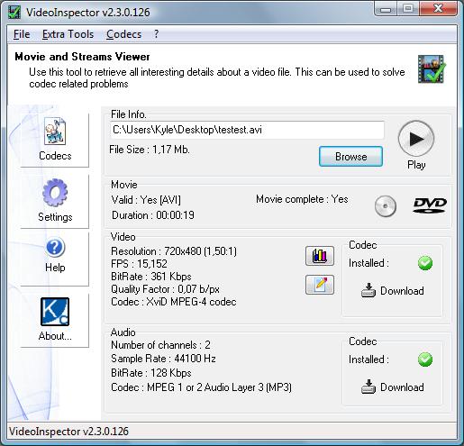 VideoInspector 2.15.5.149 full